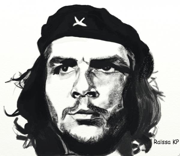 Che Guevara por RaissaKP